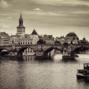 The Charles Bridge, Prague