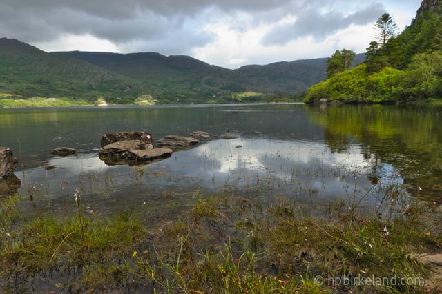 Solflekker rundt Glanmore Lake