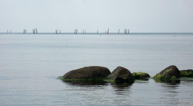 Sommerstille ved Råbylille Strand, Møn