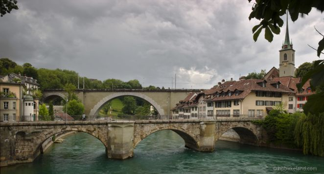 The oldest bridges in Bern