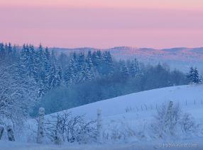 Blue hour, Enebakk, Norway