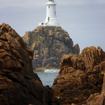 Corbiere Lighthouse Day