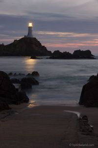 Corbiere Lighthouse Night
