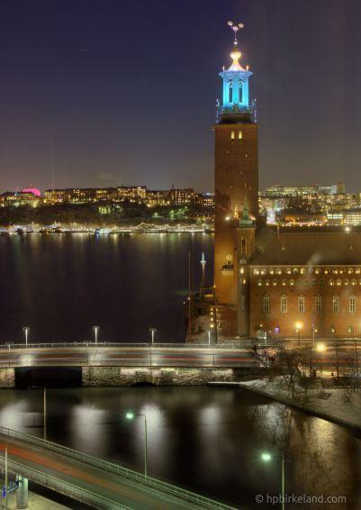 Stockholm Winter Evening