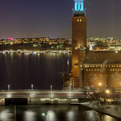 Stockholm Winter Evening