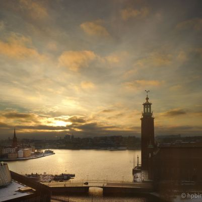 Stockholm Winter Sunrise