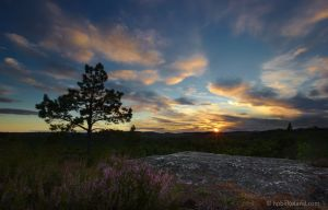 Sunset at Kniben