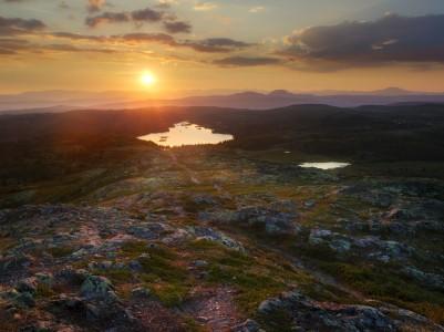 Valdres Sunset